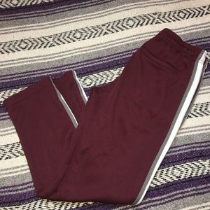Men's maroon urban outfitters sweats size small